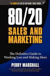 80 20 Sales and Marketing by Perry Marshall | book cover