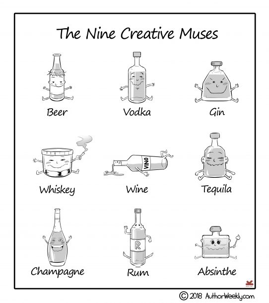 Alcohol: The Nine Creative Muses
