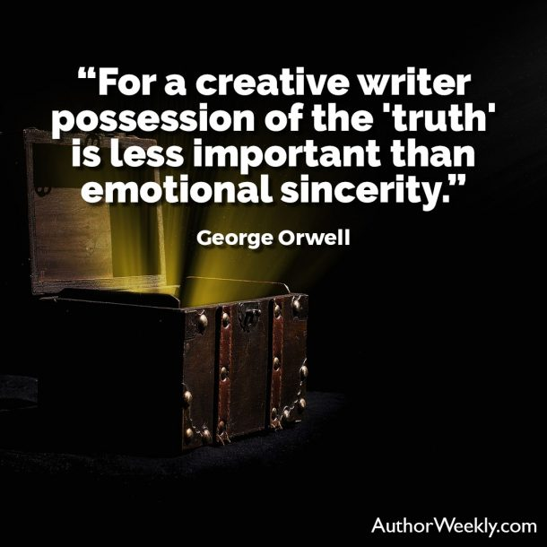 George Orwell Writing Advice and Quotes Emotional Sincerity Is More Important Than the Truth