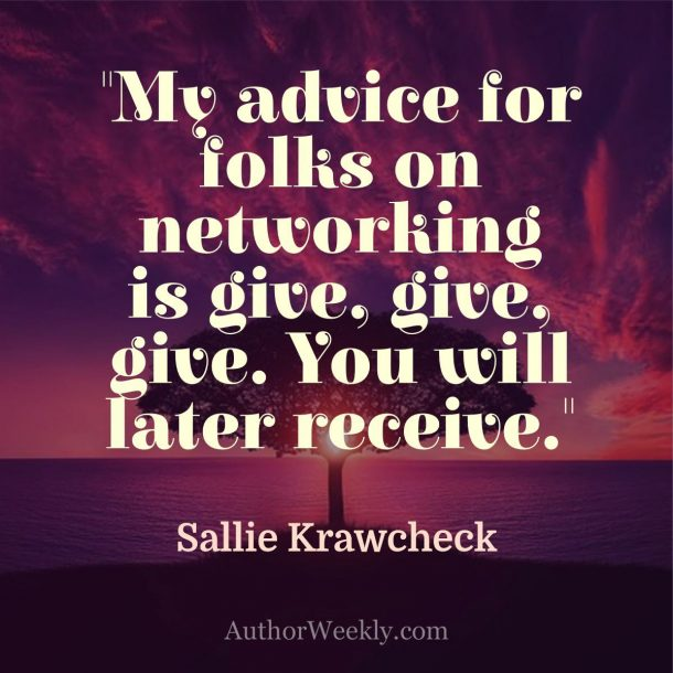 Sally Crawcheck Quote Networking
