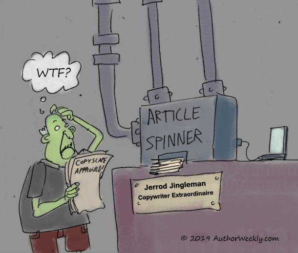 Article Spinner Cartoon/Comic