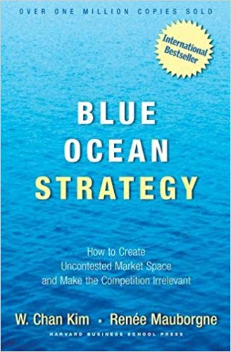 Blue Ocean Strategy by Kim and Auborgne | book cover