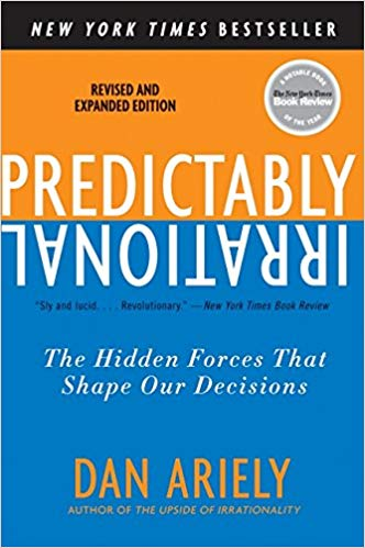 Predictably Irrational by Dan Ariely | book cover
