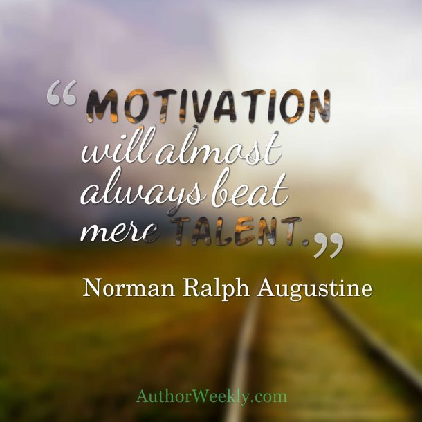 Motivation Quote Norman Ralph Augustine