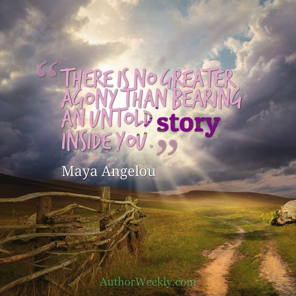 Maya Angelou Quote Story