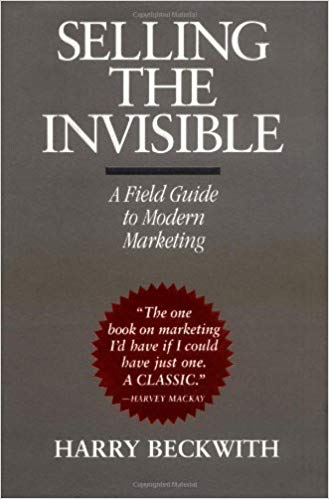 Selling the Invisible by Harry Beckwith | book cover