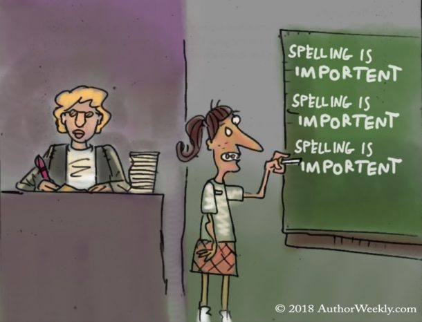 Spelling is Important: Comic/Cartoon