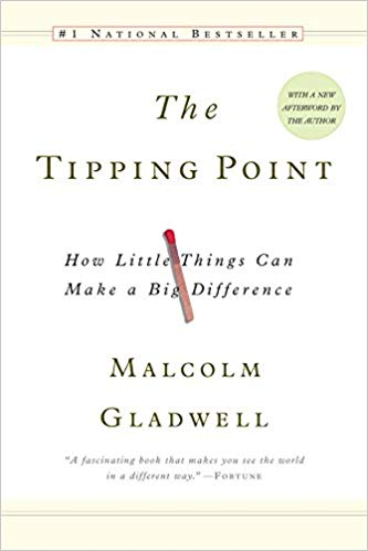 The Tipping Point by Malcom Gladwell | Book cover