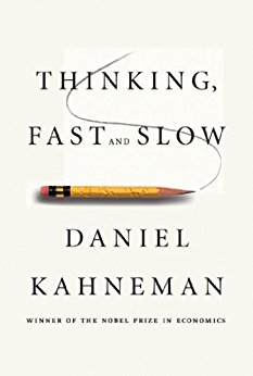 Thinking Fast and Slow by Daniel Kahneman | book cover