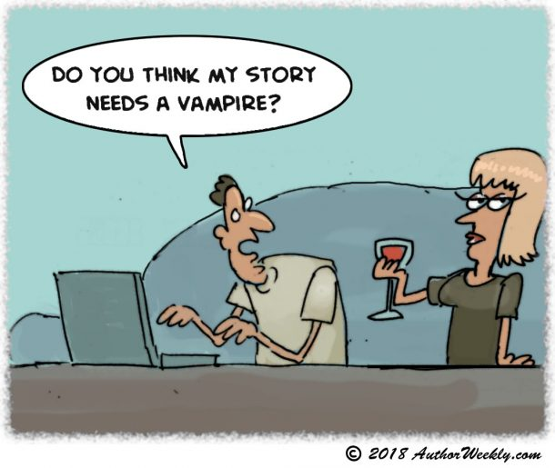 Comic Does My Story Need a Vampire