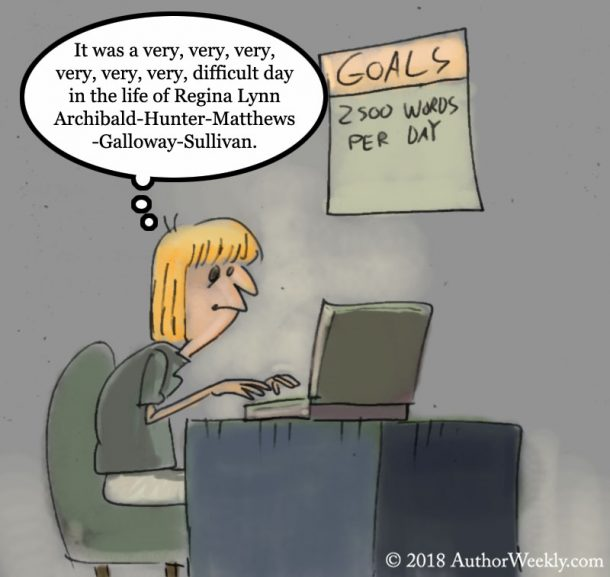 Writing Goals Comic: 2K Words Per Day