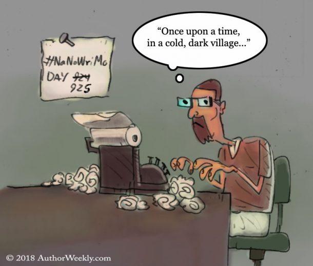 #NANOWRIMO: Writing Cartoon/Comic