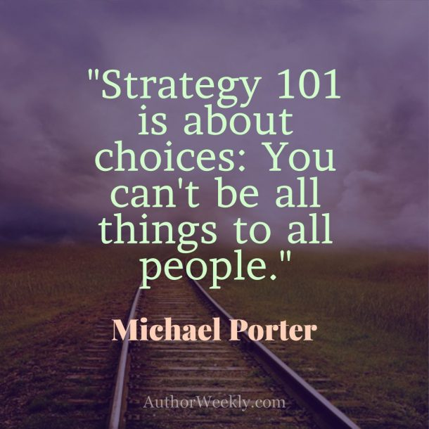 Michael Porter Quote Choices