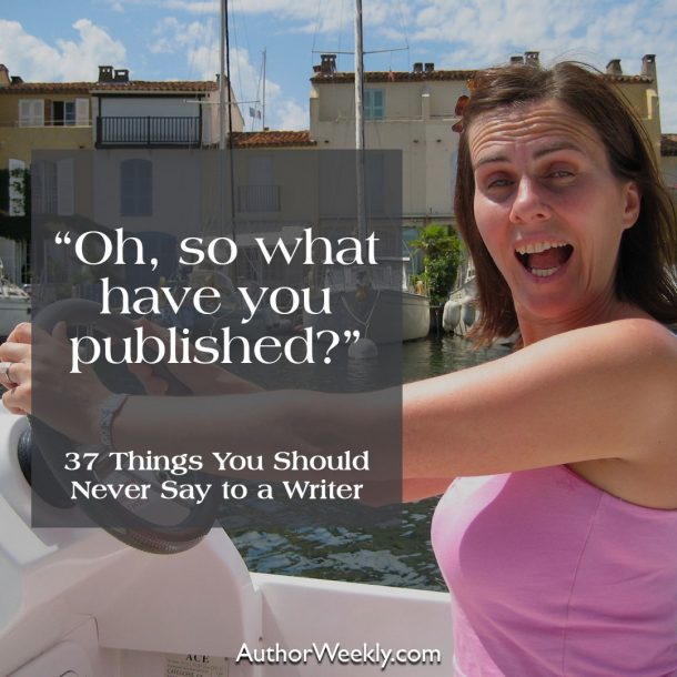 Oh, so what have you published?