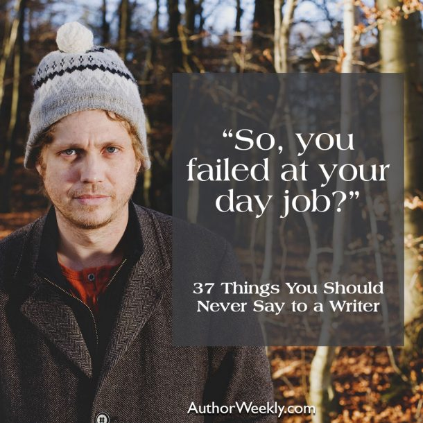 So you failed at your day job?