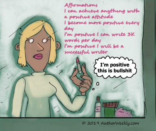 Affirmations and Positivity Cartoon/Comic