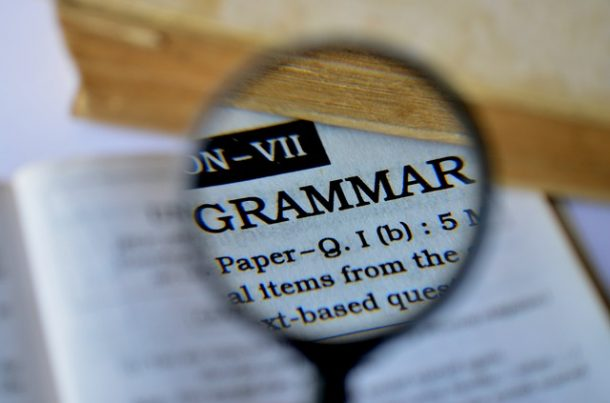 Grammar Resources for Writers