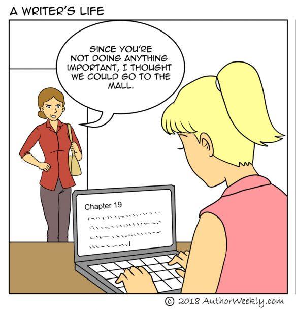 Take a Passive Stance: Cartoon/Comic