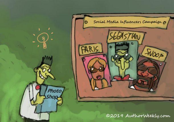 Leveraging Social Media Influencers | Cartoon/Comic