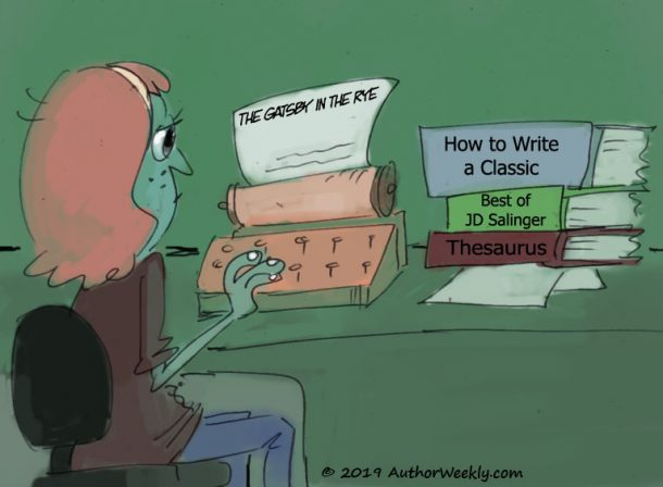 The Gatsby in the Rye Comic/Cartoon