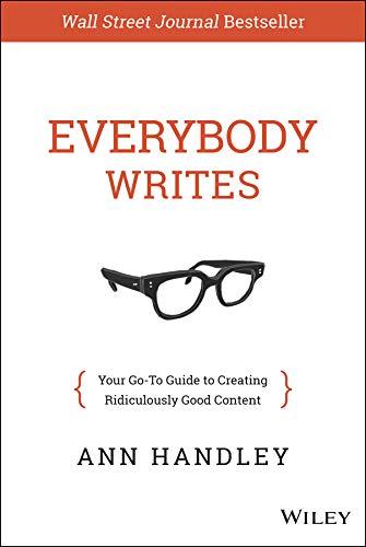 Everybody Writes by Ann Handley: Book Cover
