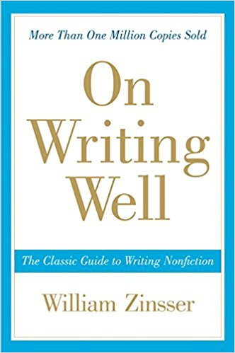 On Writing Well by William Zinsser: Book Cover