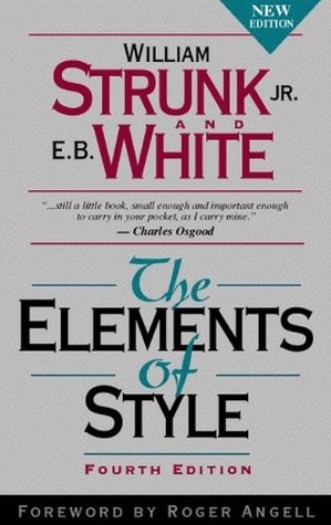 The Elements of Style Strunk and White: Book Cover