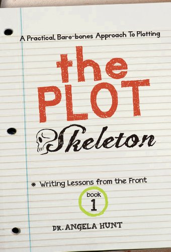 The Plot Skeleton by Angela Hunt: Book Cover