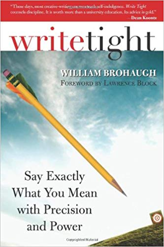 Write Tight by William Brohaugh: Book Cover